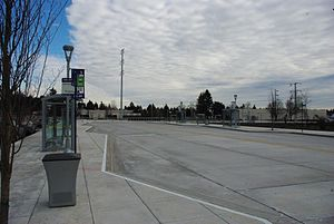 South Metro Area Regional Transit - SMART Central at Wilsonville Station