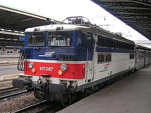 SNCF Class BB 17000 - BB 17067 at Gare de l'Est 26 December 2005