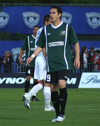 2008 U.S. Open Cup Final - Darren Spicer, was Charleston Battery's leading goalscorer in the 2008 U.S. Open Cup.