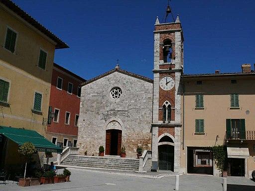 Chiesa San Francesco, San Quirico d'Orcia