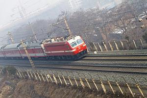 Longhai Railway - Image: SS7E 0086