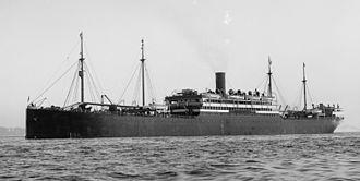 USS Pretoria (1897) - Image: SS Pretoria LOC det.4a 15908