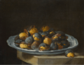 STILL LIFE WITH ROASTED CHESTNUTS ON A PLATE.PNG