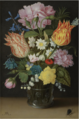 STILL LIFE WITH TULIPS, ROSES, NARCISSI AND OTHER FLOWERS IN A GLASS BEAKER.PNG