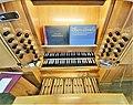 Saarbrücken-Burbach, Matthäuskirche (Ott-Orgel, Spieltisch) (9).jpg