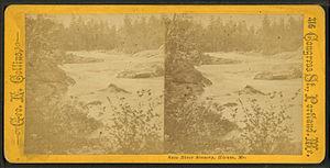 Hiram, Maine - Saco River Scenery, Hiram, Me.