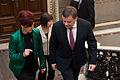Saeimu oficiālā vizītē apmeklē jaunievēlētais Lietuvas Seima priekšsēdētājs (8265674201).jpg