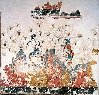 "Minoan civilization - The ""saffron-gatherers"""