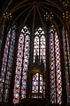 Saint Chapelle stained glass windows 1, Paris May 2014.jpg