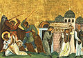 Saint Timothy (Menologion of Basil II).jpg