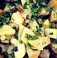 Salade de céleri rave aux pommes et brocoli sauvage.jpg