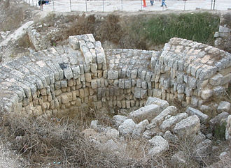 Samaria (ancient city) - Hellenistic tower from the inside.