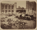 Samarkand Bazaar and Its Types of Vendors. Market Square between Three Madrasahs (Registan) WDL10867.png