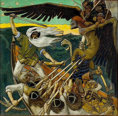 The Defense of the Sampo, Akseli Gallen-Kallela