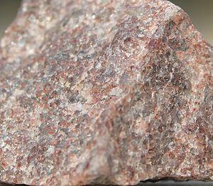 Quartzite - Quartzite can have a grainy, glassy, sandpaper-like surface