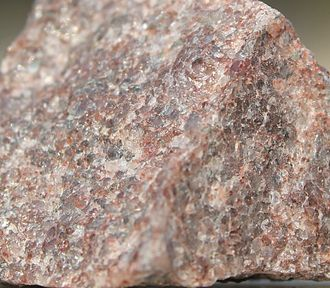 Quartzite - Quartzite can have a grainy, glassy, sandpaper-like surface
