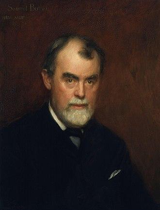 Samuel Butler (novelist) - Image: Samuel Butler by Charles Gogin