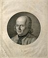 Samuel Christian Friedrich Hahnemann. Line engraving by J. H Wellcome V0002496.jpg