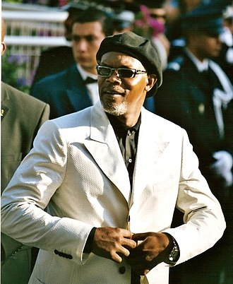 Samuel L. Jackson - Jackson at the 2005 Cannes Film Festival