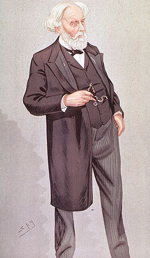 Samuel Wilks - Samuel Wilks depicted in Vanity Fair