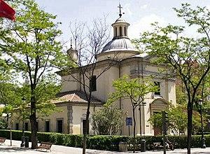 Royal Chapel of St. Anthony of La Florida - Image: San Antonio de la Florida