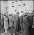 San Francisco, California. In response to the Army's Exclusion Order Number 20, residents of Japane . . . - NARA - 536410.tif
