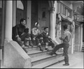 San Francisco, California (Buchanan Street). High School boys of Japanese ancestry in the Japanese . . . - NARA - 537604.tif