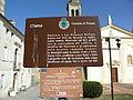 San Giovanni Battista, tourist sign (Pincara).jpg