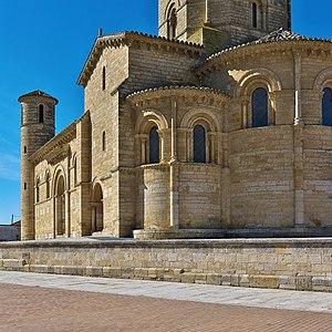 Muniadona of Castile - Monastery of San Martín de Tours de Frómista, Muniadona's burial place.
