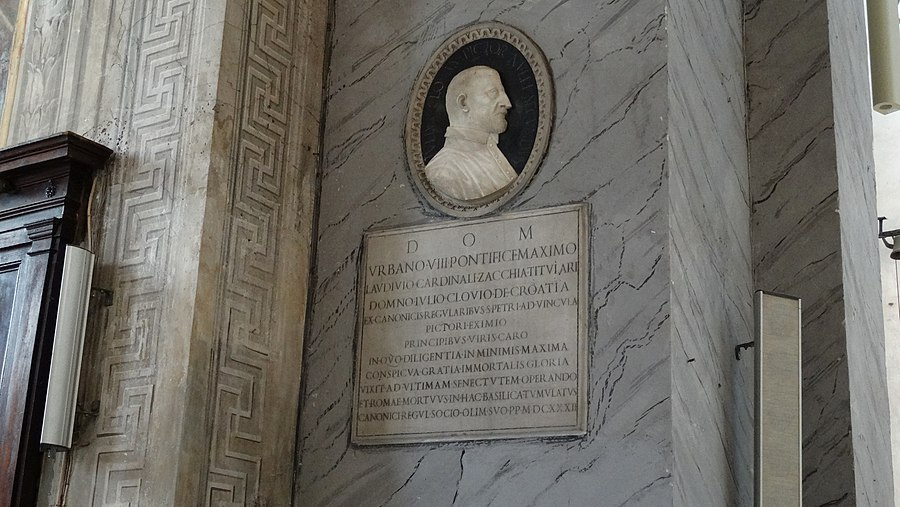 San Pietro in Vincoli - Tomba di Giulio Clovio
