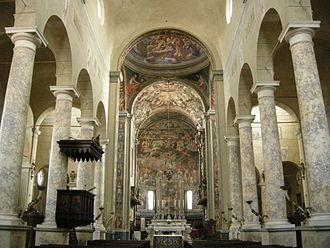 San Prospero, Reggio Emilia - Image: San Prospero (Reggio Emilia), interno 01