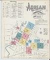 Sanborn Fire Insurance Map from Adrian, Lenawee County, Michigan. LOC sanborn03900 002-1.jpg