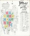 Sanborn Fire Insurance Map from Iowa City, Johnson County, Iowa. LOC sanborn02695 004-1.jpg