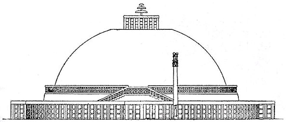 Sanchi Great Stupa under the Sungas