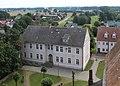 Sandau (Elbe), Blick vom Kirchturm zur Grundschule.JPG