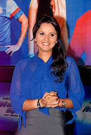 Sania Mirza at the NDTV Marks for Sports event 17.jpg