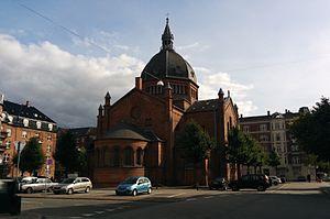 St. Mark's Church, Copenhagen - Image: Sankt Markus Kirke