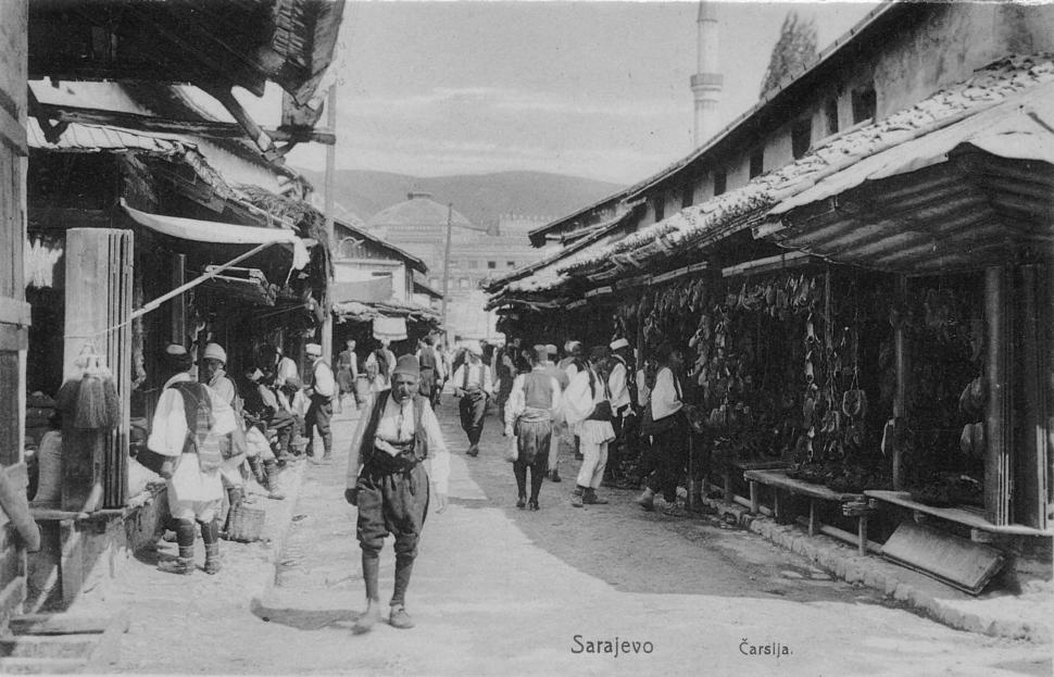 Sarajevo market 1914
