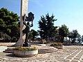 Saranda town - Monument to the partisans.jpg