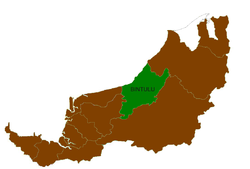Location of Bintulu