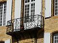 Sarlat-la-Canéda hôtel d'Anglars balcon.JPG
