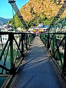 Suspension Bridge on the Sarju River