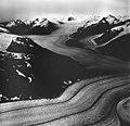 Sawyer Glacier, tidewater glacier, hanging glacier and mountain glaciers and firnline, August 27, 1968 (GLACIERS 5890).jpg