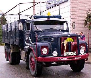 Scania-Vabis L75 Motor vehicle