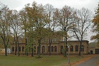 Niederschönhausen - Image: Schützenhaus Niederschönhausen (2004)