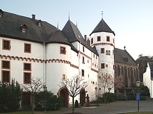 House of Leyen - The original family seat, Schloss Gondorf