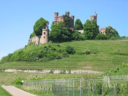 Schloss Ortenberg im Mai 2008