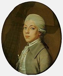 Alexander von Humboldt, porträtiert von Johann Heinrich Schmidt 1784 (Quelle: Wikimedia)
