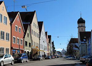 Schongau, Bavaria - Image: Schongau Muenzstr