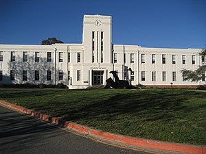 Canberra High School - Former Canberra High school, now the School of Arts, ANU Canberra